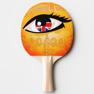 Eye, United Kingdom Ping-Pong Paddle