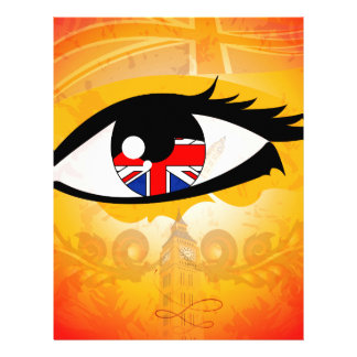 Eye United Kingdom Letterhead Template