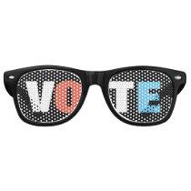 EYE Vote Retro Black Party Glasses