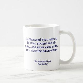 """""""Eye want a cuppa"""" Mug"""