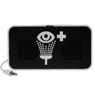 Eye Wash Pictogram Doodle Speaker