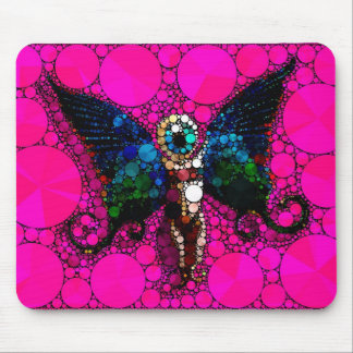 Eye Wide Open Mouse Pad