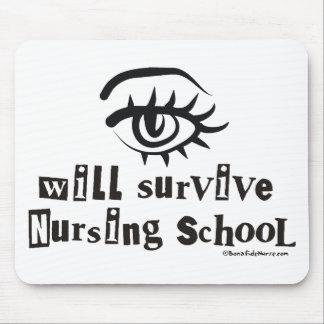 Eye will Survive Nursing School Mouse Pad