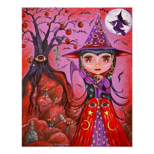 Eye Witch Poster