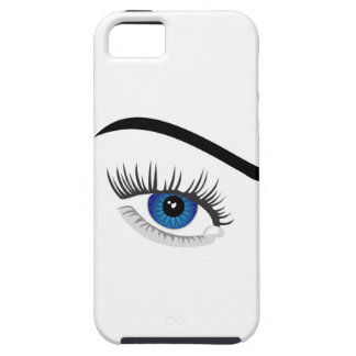 Eye with contact lens iPhone 5 cover