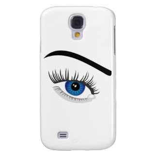 Eye with contact lens galaxy s4 case