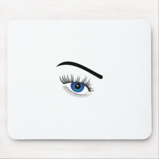 Eye with contact lens mouse pad