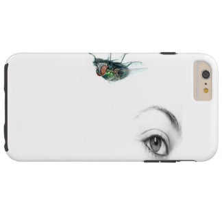 eye with fly phone case