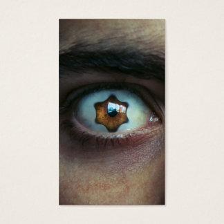 Eye with Star Shaped Iris Business Card