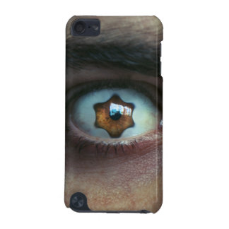 Eye with Star Shaped Iris iPod Touch (5th Generation) Case