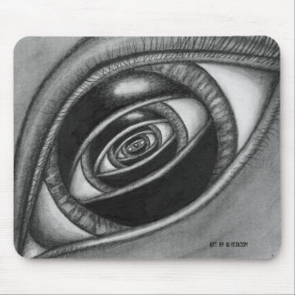 Eye Within An Eye Mouse Pad
