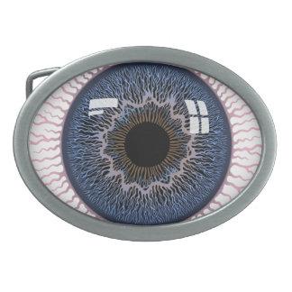 Eyeball -517 oval belt buckle