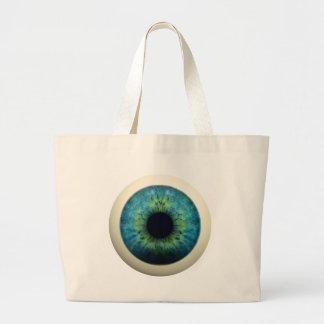 EYEBALL! (A great Halloween novelty item!) ~ Jumbo Tote Bag