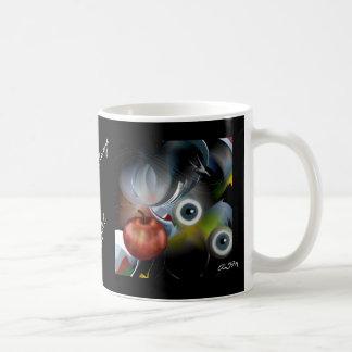 Eyeball Apple OF the eye cup Coffee Mugs