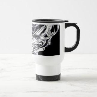 eyeball art travel mug