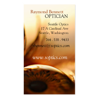 Eyeball Business Card