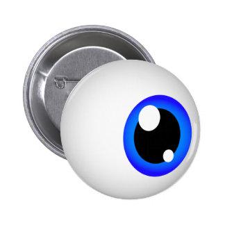 Eyeball Button (Blue)