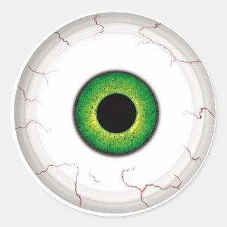 Eyeball Classic Round Sticker