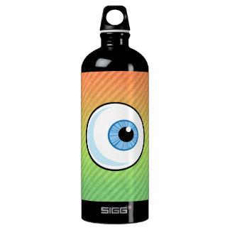 Eyeball design aluminum water bottle