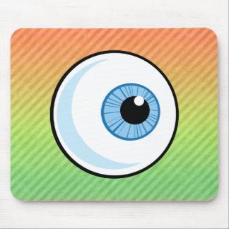 Eyeball design mouse pad