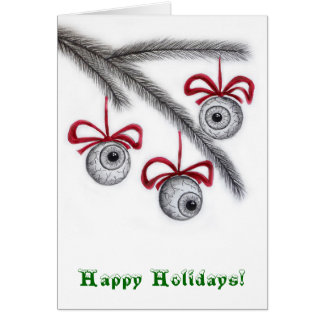 Eyeball Greetings! Card
