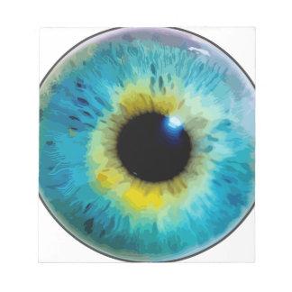 Eyeball - Iris Memo Pads