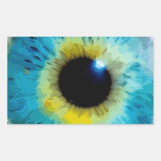 Eyeball - Iris Rectangular Sticker