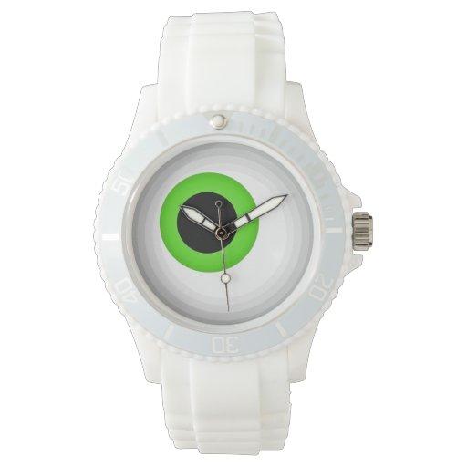 Eyeball: lime watch
