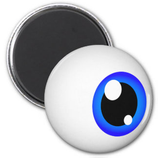 Eyeball Magnet (Blue)