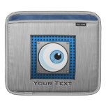 Eyeball; Metal-look Sleeves For iPads