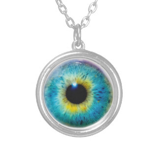 Eyeball Necklace Keep an eye out at all times