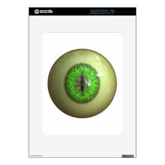 Eyeball of monster iPad skins