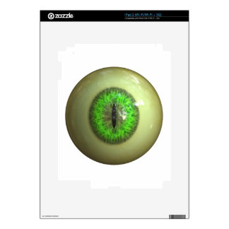 Eyeball of monster skin for iPad 2