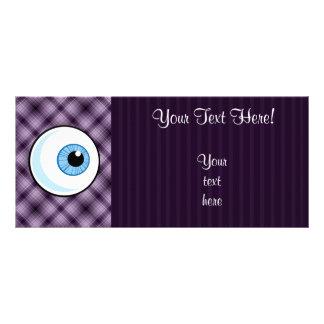 Eyeball; Purple Rack Card