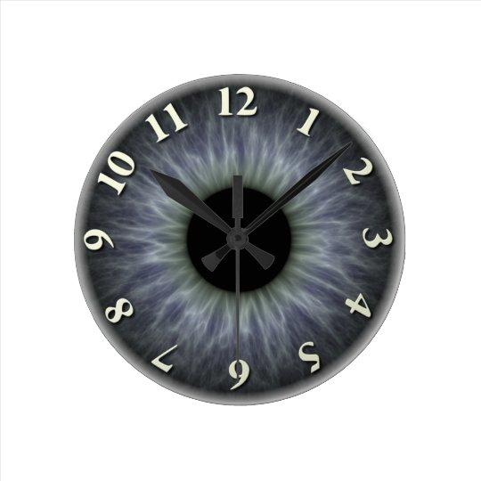 Eyeball Round Clock