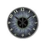 Eyeball Round Clocks