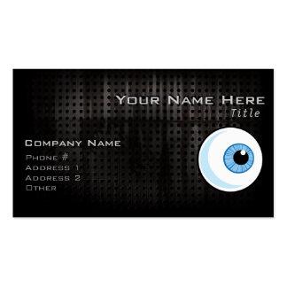 Eyeball; Rugged Business Card