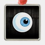 Eyeball; Rugged Christmas Tree Ornaments