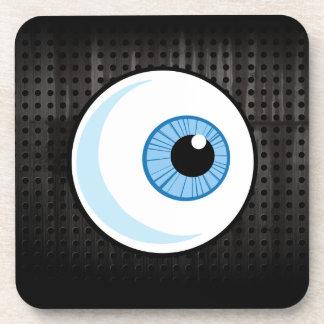 Eyeball; Rugged Drink Coaster