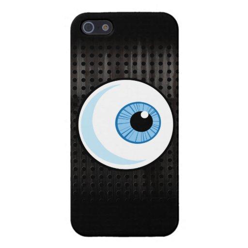 Eyeball; Rugged iPhone 5 Cases