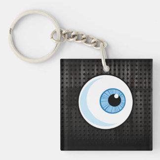 Eyeball; Rugged Keychain