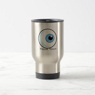 Eyeball; Rugged Travel Mug