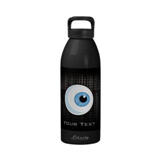 Eyeball; Rugged Reusable Water Bottle
