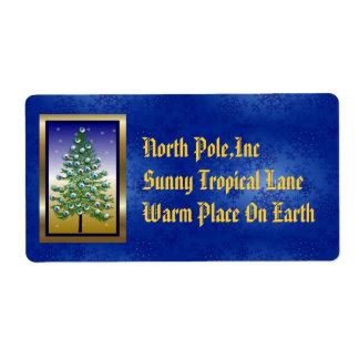 Eyeball Tree Label