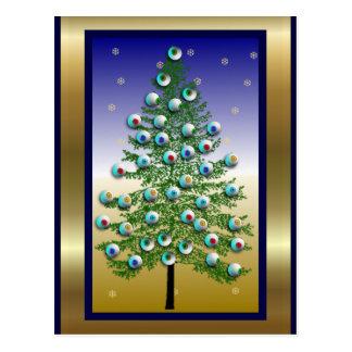 Eyeball Tree Postcard