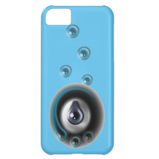 eyeballs, abstract art eye design iPhone 5C cover