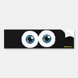 Eyeballs - Bumper sticker