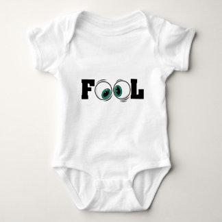 Eyeballs Fool Baby Bodysuit