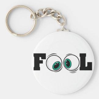 Eyeballs Fool Keychain