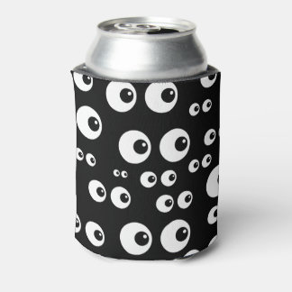 Eyeballs Insulated Bottle or Can Cooler